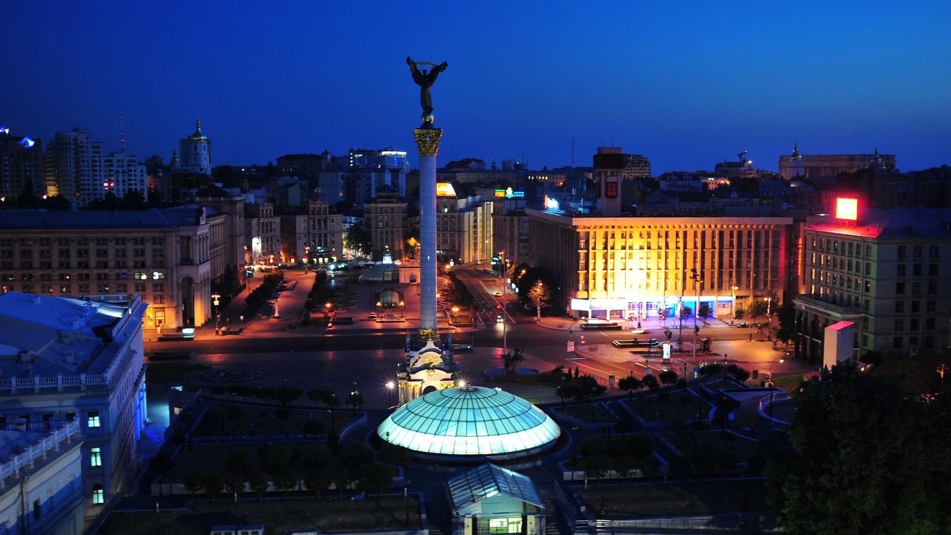 kiev-at-night