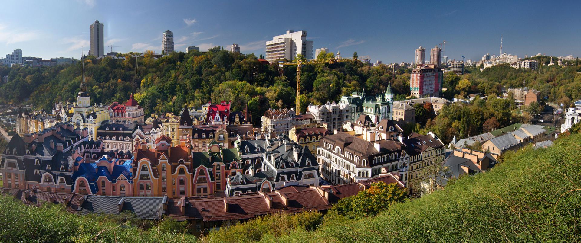 ТОП-10 самых романтических мест Киева