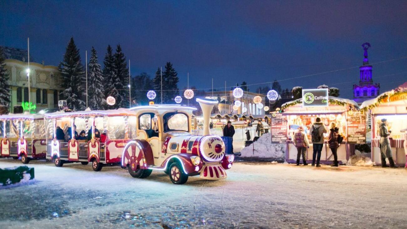 Новогодние праздники в Киеве на Подоле