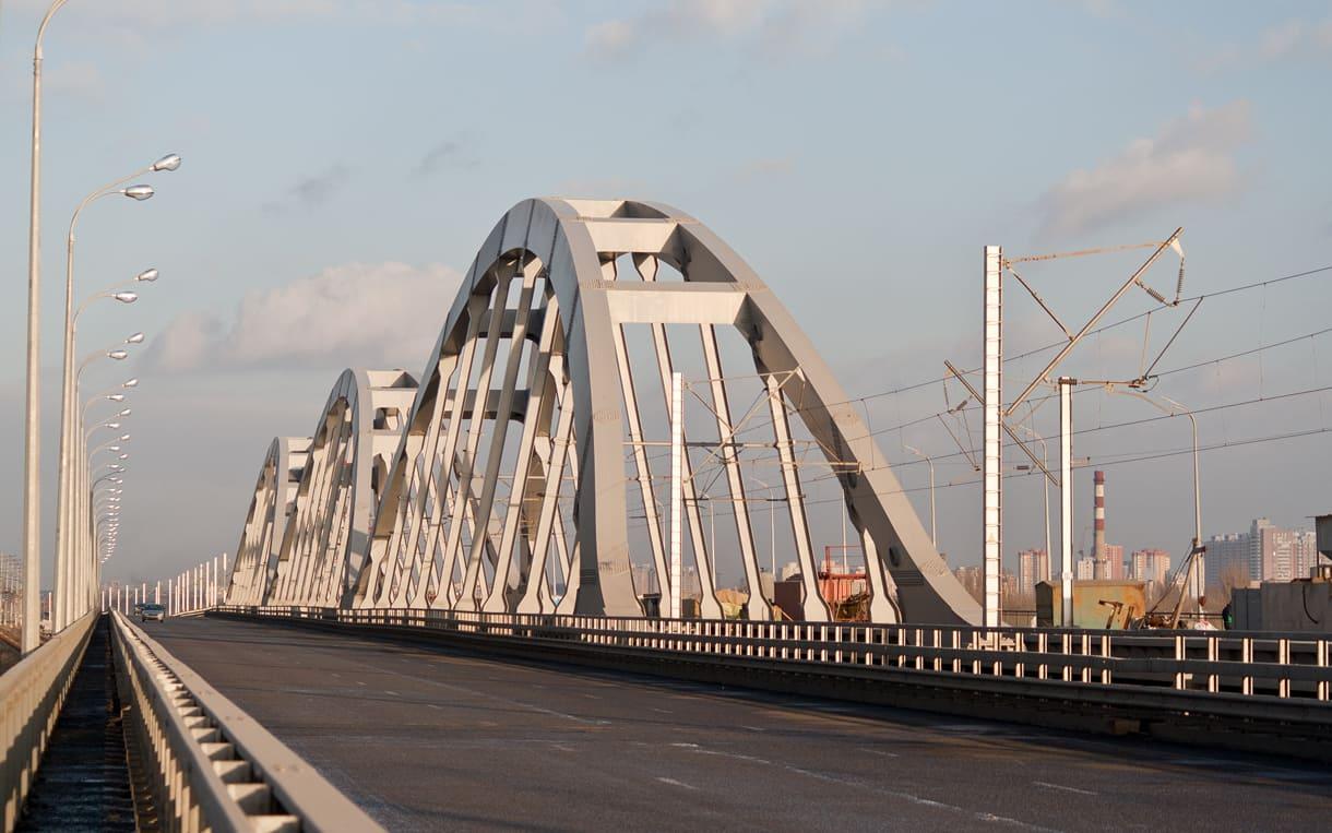 Дарницкий железнодорожно-автомобильный мост