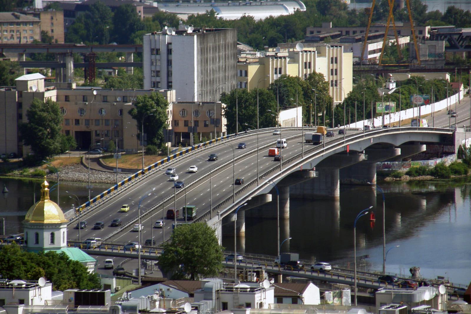 Гаванский мост в Киеве