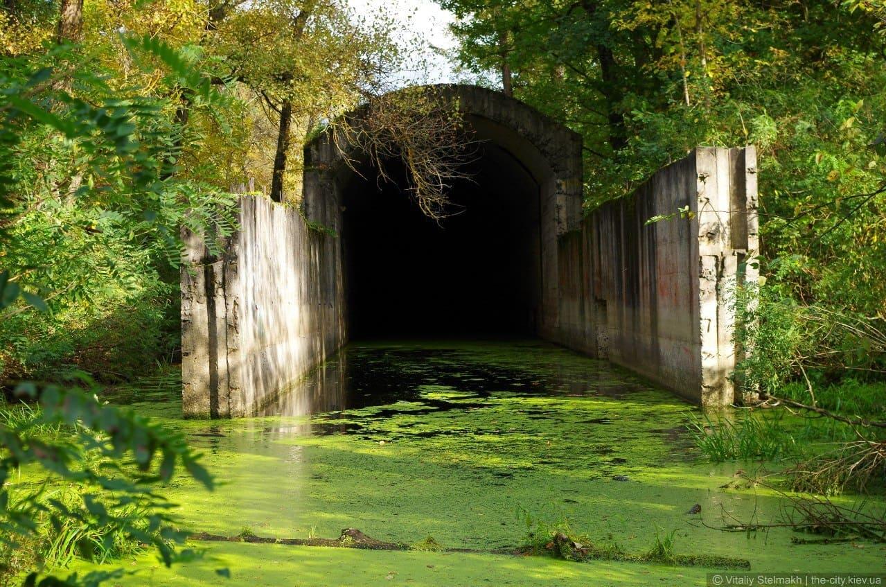 Тоннель под Днепром