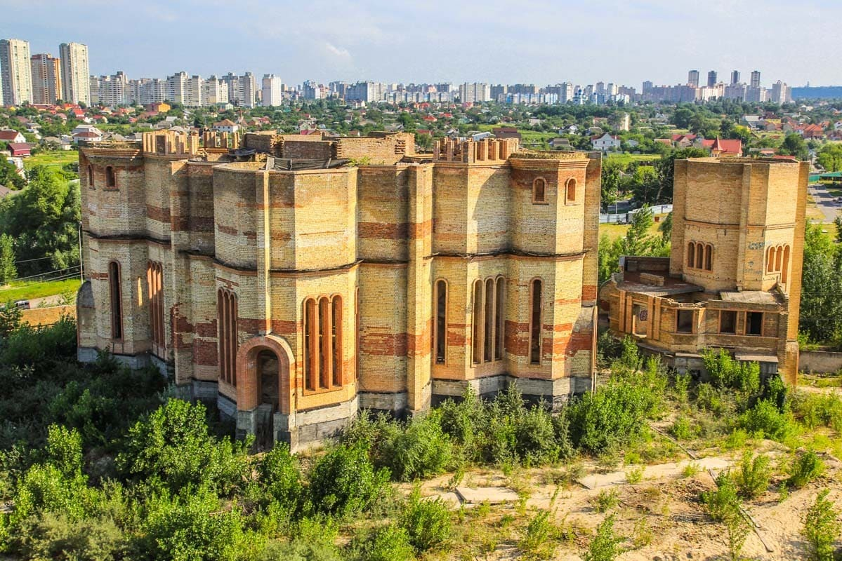 Заброшенные места Киева